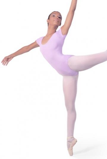 Body tanz mit halben ärmeln B408