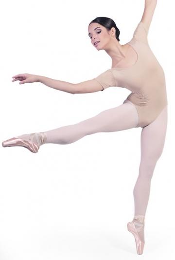 Body tanz mit halbarm B1022