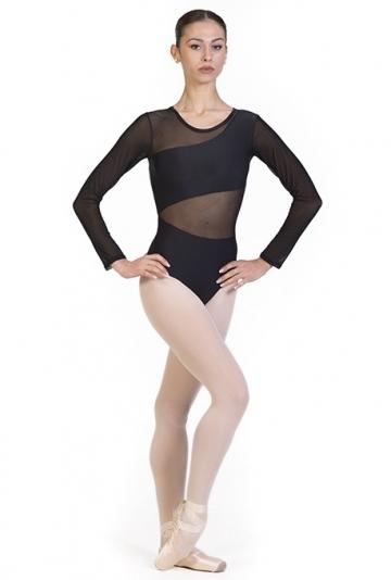 Body tanz, mit armlehnen transparent B7020