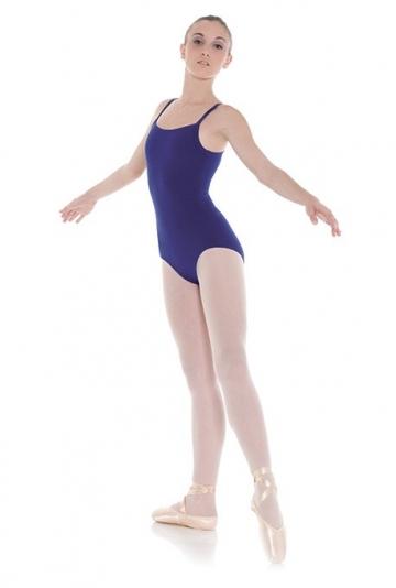 Body tanz in lycra oder baumwolle mit hosenträgern