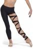Leggings modernen tanz mit spitzen-up C2140P