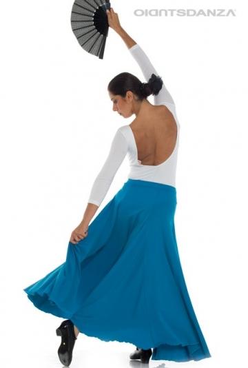 Flamenco-röcke und doppel-rad FL 2027