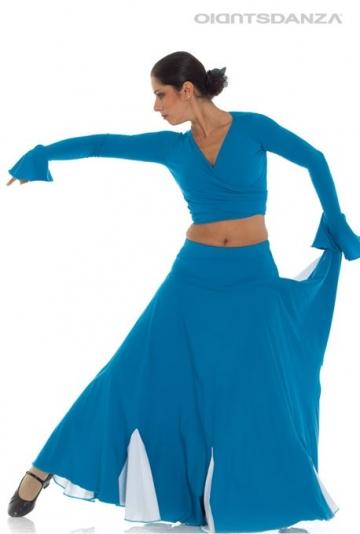 Röcke von flamenco-zweifarbige FL 2026