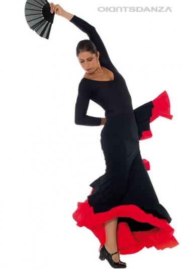 Rock flamenco doppelte rüschen FL 2022